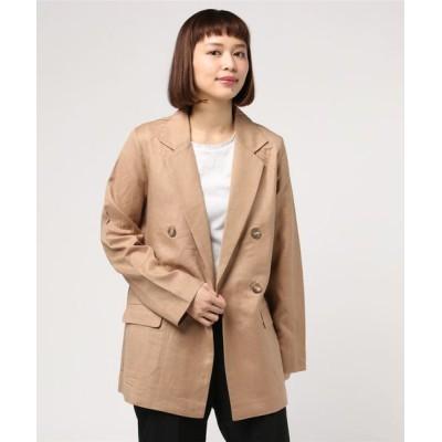 JUGLANS / Wブレストジャケット WOMEN ジャケット/アウター > テーラードジャケット