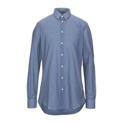 RAF MOORE シャツ ブルー 38 コットン 100% シャツ