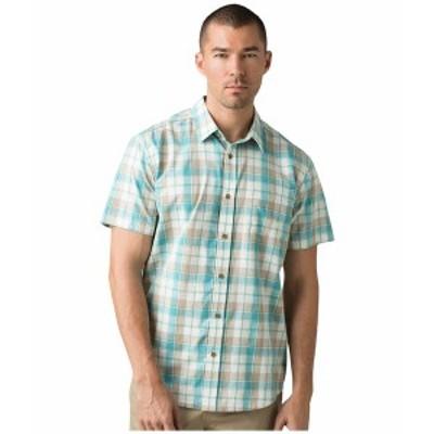 プラーナ メンズ シャツ トップス Benton Shirt Azurite
