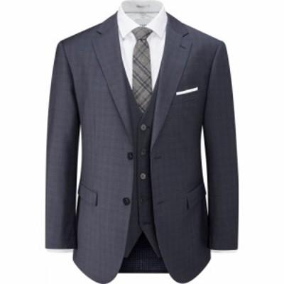 スコープス Skopes メンズ スーツ・ジャケット アウター Irvine Wool Suit Jacket Navy