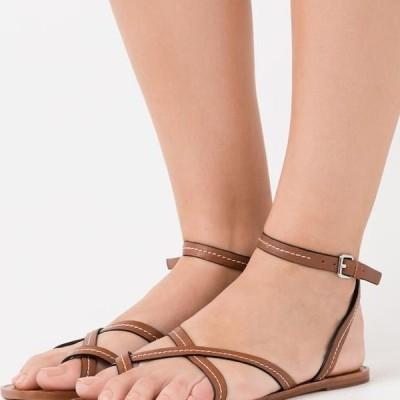 アルド レディース サンダル SYLVIA - T-bar sandals - cognac