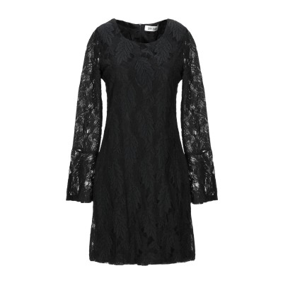 DRY LAKE. ミニワンピース&ドレス ブラック XS コットン 60% / ナイロン 40% ミニワンピース&ドレス