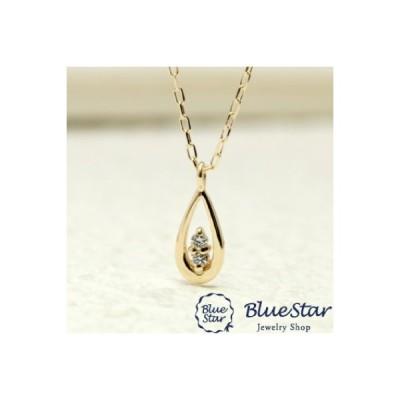 ネックレス しずく デザイン ダイヤモンド  代官山BlueStar