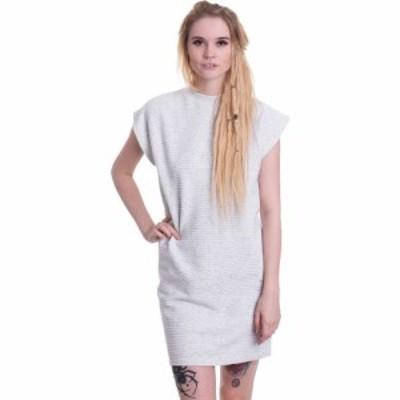 アーバンクラシックス Urban Classics レディース ワンピース ワンピース・ドレス - Naps Terry Extended Shoulder Lightgrey - Dress gr