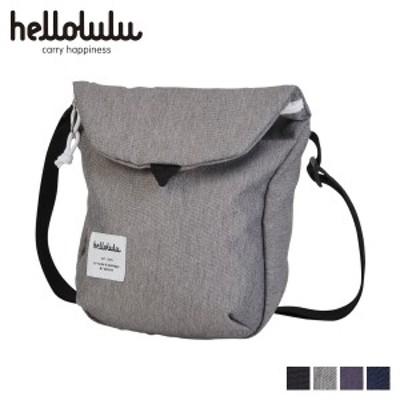 ハロルル hellolulu ショルダーバッグ バッグ デシ DESI メンズ レディース 2.5L ブラック ダーク グレー