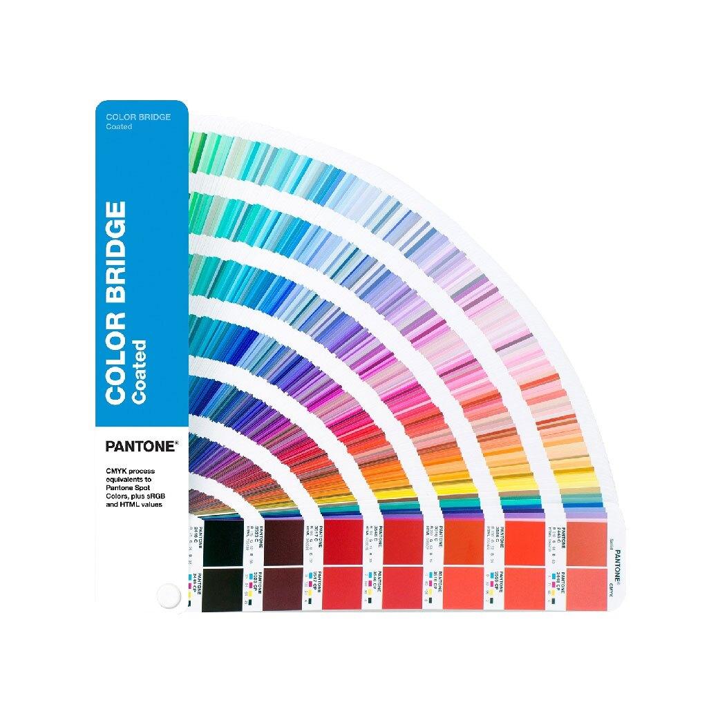 GG6103A 色彩橋樑指南(光面銅版紙) PANTONE 色票 顏色打樣 色彩配方 彩通 專色 印刷 四色疊印
