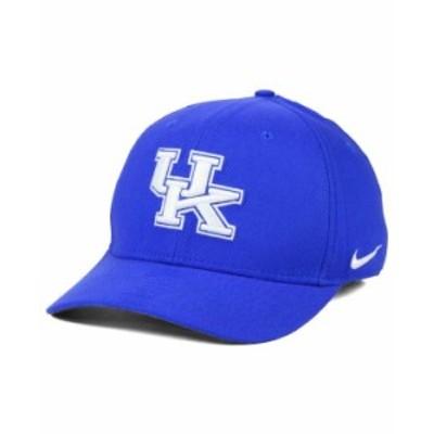 ナイキ メンズ 帽子 アクセサリー Kentucky Wildcats Classic Swoosh Cap RoyalBlue