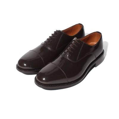 【コカ】London Shoe Make グッドイヤーウェルト製法 内羽根 ストレートチップ