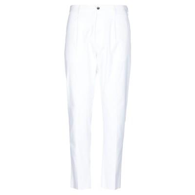 PT Torino パンツ ホワイト 54 ポリアクリル 60% / コットン 36% / ポリウレタン 4% パンツ