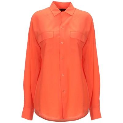 RALPH LAUREN BLACK LABEL シャツ オレンジ 8 シルク 100% シャツ