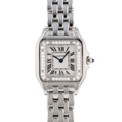 カルティエ Cartier パンテール ドゥ SM W4PN0007 シルバー文字盤 新品 腕時計 レディース