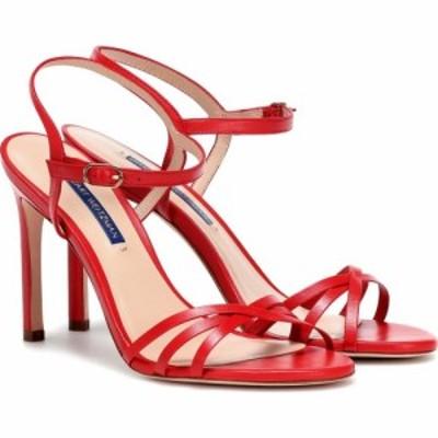スチュアート ワイツマン Stuart Weitzman レディース サンダル・ミュール シューズ・靴 starla 105 leather sandals Follow me red
