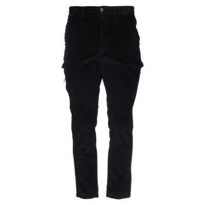 メッサジェリエ MESSAGERIE パンツ ブラック 50 コットン 100% パンツ