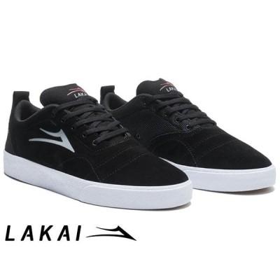 ラカイ Lakai BRISTOL BLACK/GREY SUEDE ブリストル ブラック/グレー スエード