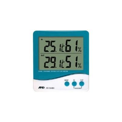 A&D AD5648A デュアルチャンネル温度 湿度計 エーアンドデイ