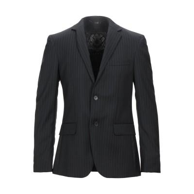 ジョン リッチモンド JOHN RICHMOND テーラードジャケット ブラック 48 バージンウール 100% テーラードジャケット