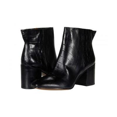 Franco Sarto フランコサルト レディース 女性用 シューズ 靴 ブーツ アンクル ショートブーツ Tina2 - Black Croc