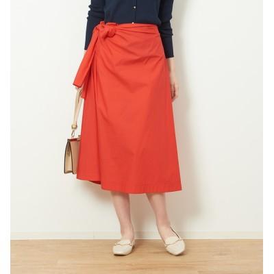 【ルージュ・ヴィフ ラクレ/Rouge vif la cle】 タイプライターリボンスカート