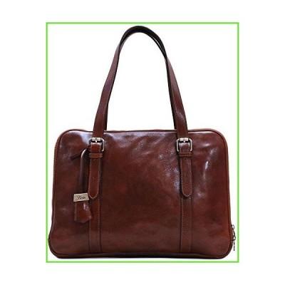 Floto Salerno Women's Leather Business Shoulder Bag Briefcase Messenger Bag【並行輸入】【新品】