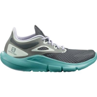 サロモン Salomon レディース ランニング・ウォーキング シューズ・靴 Predict Mod Trail Running Shoes Ebony/Meadowbrook/Purple Heather