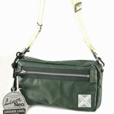 吉田カバン ラゲッジレーベル(Luggage Label)ライナーネオ(LINER NEO)ショルダーバッグ   30 OLIVE GRAY 45-971-05525-30
