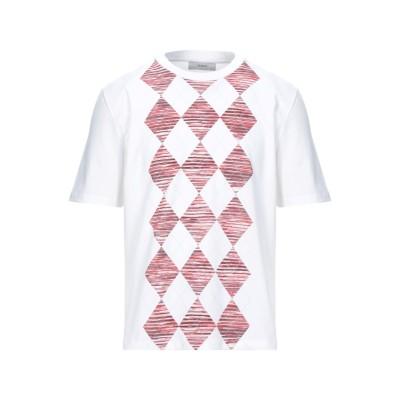 プリングル オブ スコットランド PRINGLE OF SCOTLAND T シャツ ホワイト M コットン 100% T シャツ