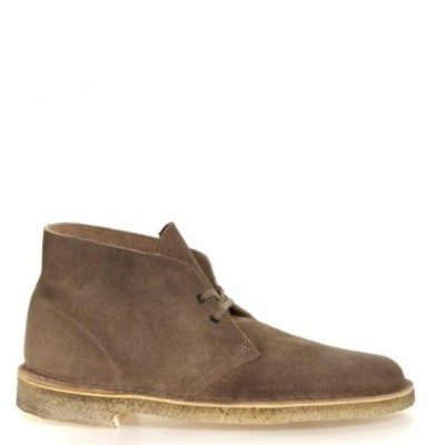 クラークス メンズ ブーツ Clarks Originals Men's Desert Boot Lace Up (15, Taupe Distressed)
