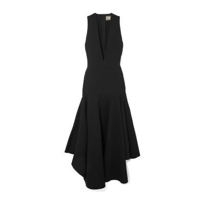 SOLACE LONDON 7分丈ワンピース・ドレス ブラック 4 ポリエステル 100% 7分丈ワンピース・ドレス