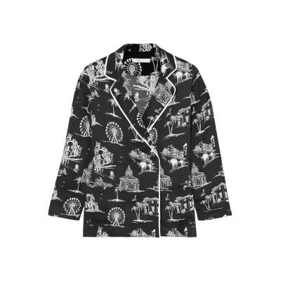 MAJE テーラードジャケット ブラック 1 レーヨン 100% テーラードジャケット
