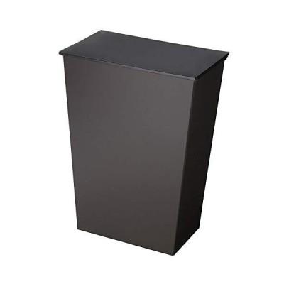 クード シンプルワイド ダストボックス 36L(I'mDアイムディー_Kcud) ブラック