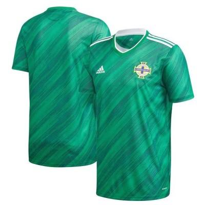 アディダス メンズ Tシャツ トップス Northern Ireland National Team adidas 2020/21 Home Federation Replica Jersey