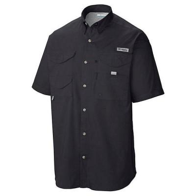 (取寄)コロンビア メンズ ボーンヘッド ショートスリーブ シャツ Columbia Men's Bonehead SS Shirt Black 送料無料
