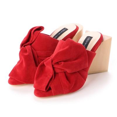 ハニーミーハニー HONEY MI HONEY ribbon sandal (red)