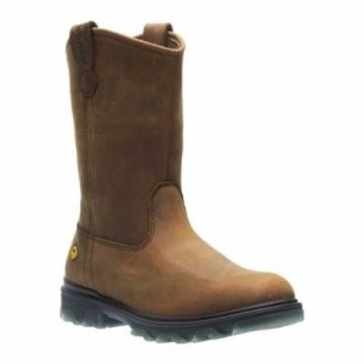 ウルヴァリン ブーツ I-90 Soft Toe Wellington Boot Sudan Brown Full Grain Leather