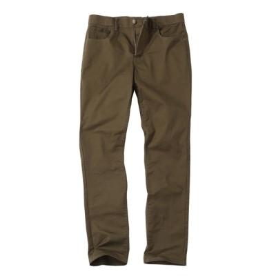 ウォッシュ加工ストレッチ5ポケットスリムシルエットチノパンツ(選べるレングス) チノパンツ・カジュアルパンツ, Pants