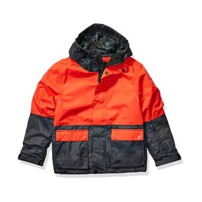 Billabong Big Fifty 50 ボーイズ スノーボードジャケット US サイズ: XL/16 カラー: オレンジ