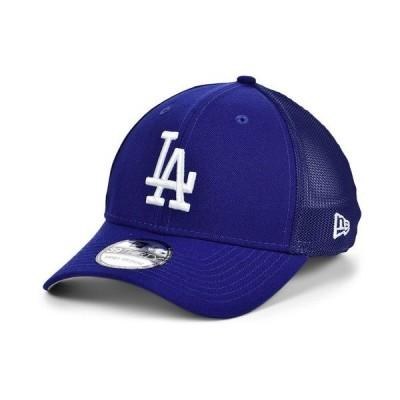 ニューエラ 帽子 アクセサリー メンズ Los Angeles Dodgers Team Classic Mesh 39THIRTY Cap LightNavy