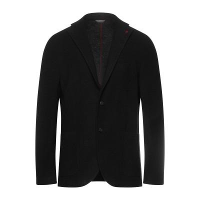 マニュエル リッツ MANUEL RITZ テーラードジャケット ブラック 54 アクリル 54% / バージンウール 24% / ポリエステル 2