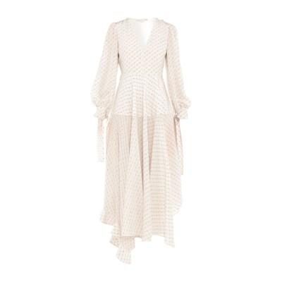 ステラ マッカートニー STELLA McCARTNEY ロングワンピース&ドレス アイボリー 40 シルク 100% ロングワンピース&ドレス