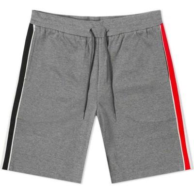 トム ブラウン Thom Browne メンズ ショートパンツ ボトムス・パンツ Interlock RWB Stripe Short Medium Grey