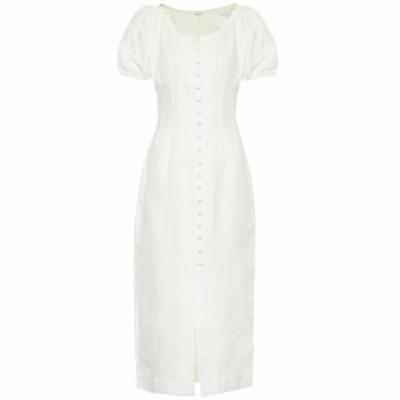 カルト ガイア Cult Gaia レディース ワンピース ワンピース・ドレス Charlotte cotton and linen dress White