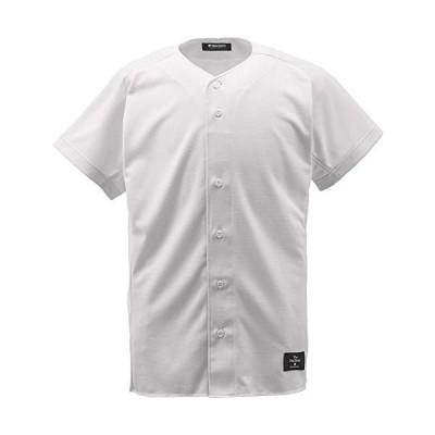 DESCENT(デサント) 野球 フルオープンシャツ Sホワイト S STD-83TA