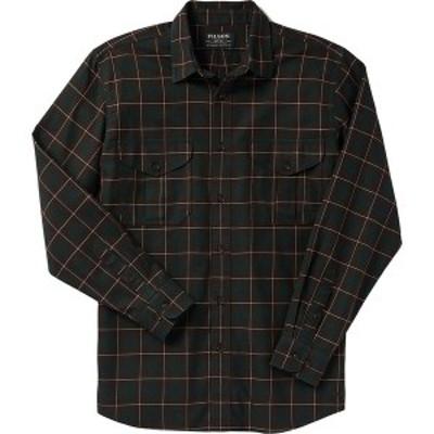 フィルソン メンズ シャツ トップス Lightweight Alaskan Guide Shirt Brown/Green/Cream Plaid