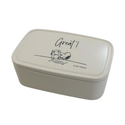 スヌーピー ピーナッツ キャラクター お弁当箱 パック ランチボックス L テーブル柄 マリモクラフト