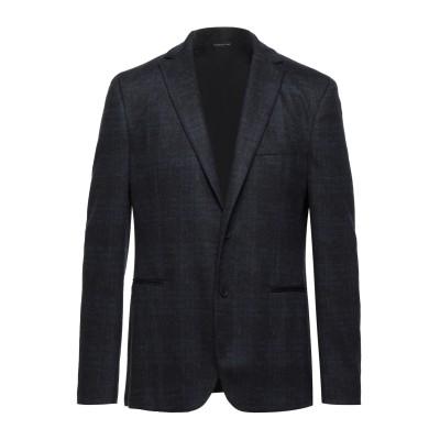トネッロ TONELLO テーラードジャケット ブラック 54 バージンウール 100% テーラードジャケット