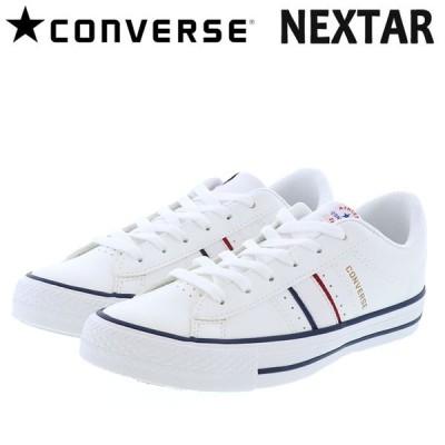 コンバース ネクスター120TC CONVERSE NEXTAR120TC OX ローカット スニーカー ホワイト 白色 38000290