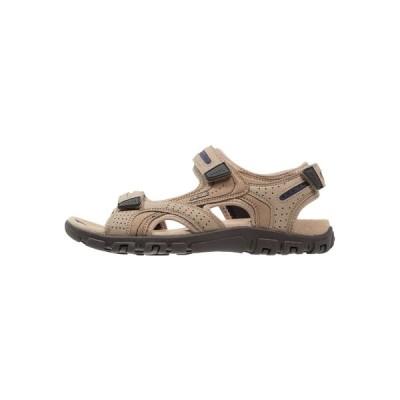 ジェオックス サンダル メンズ シューズ STRADA - Walking sandals - sand/navy