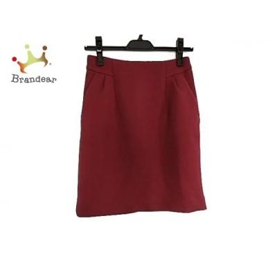 ピンキー&ダイアン Pinky&Dianne スカート サイズ38 M レディース ボルドー      値下げ 20200730