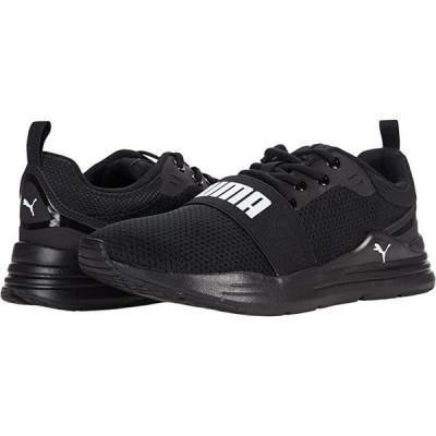 プーマ Wired Run メンズ スニーカー 靴 シューズ Puma Black/Puma White