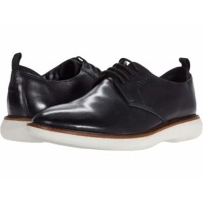 Clarks クラークス メンズ 男性用 シューズ 靴 オックスフォード 紳士靴 通勤靴 Brantin Low Black Leather【送料無料】